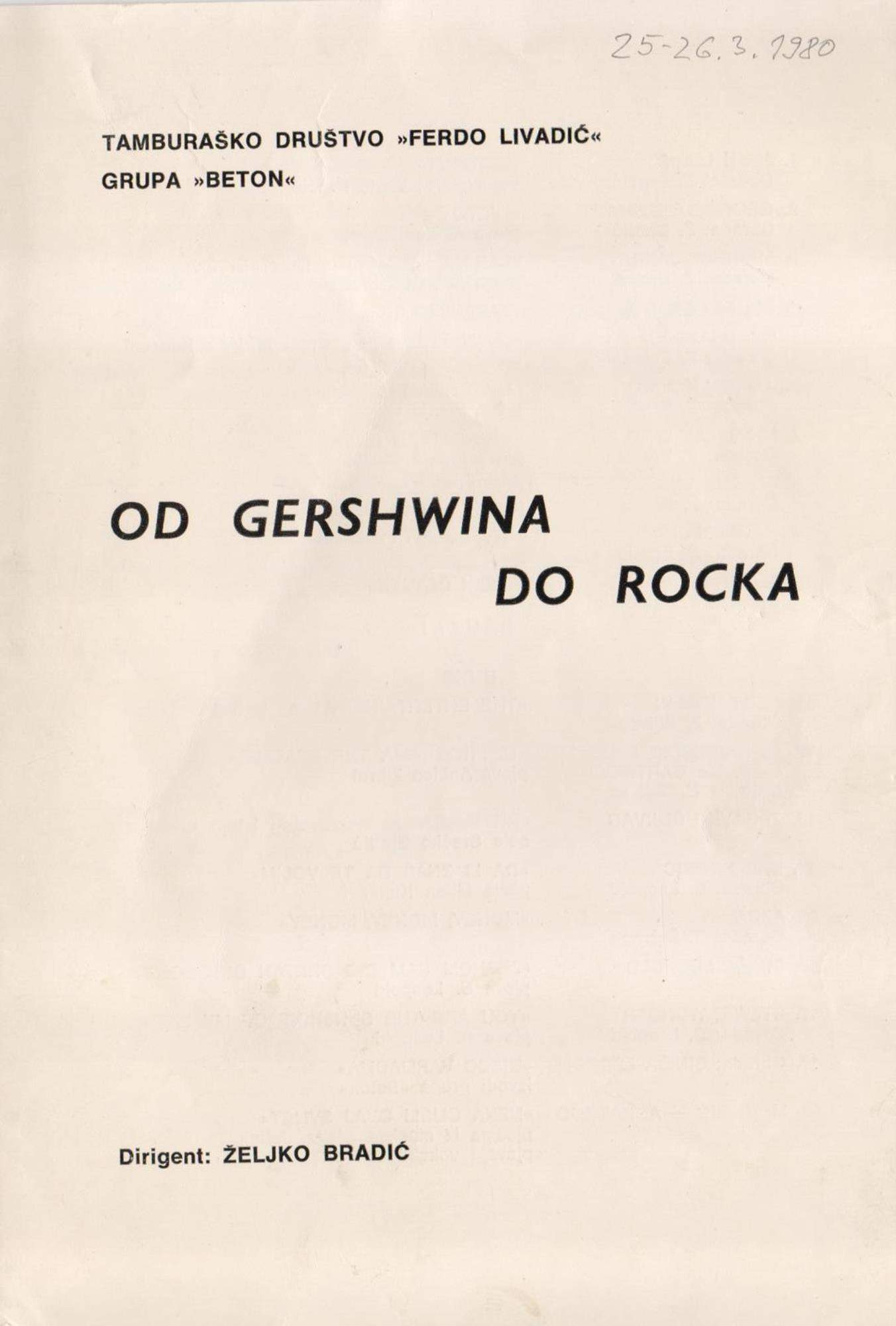 Od Gershwina do Rocka