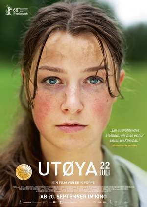 Pop Up Art kino: Utoya, 22. srpnja